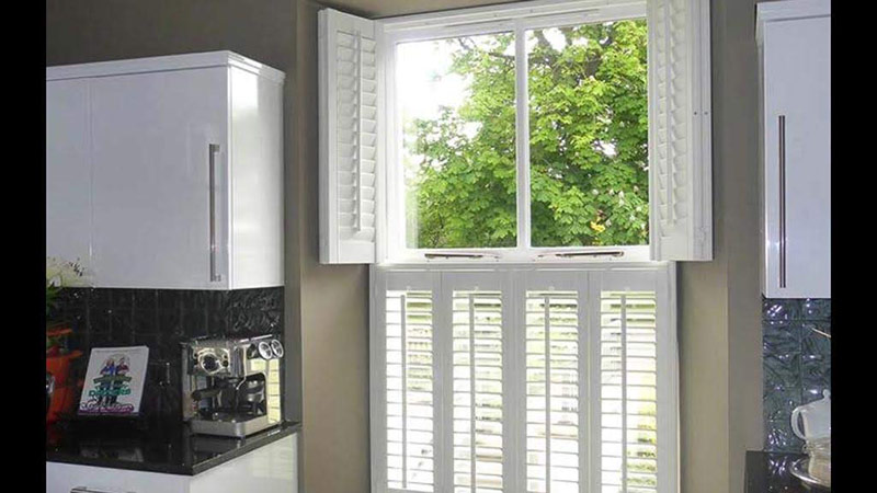 Installation of Tier on Tier Shutters Essex by A Touch Of Class