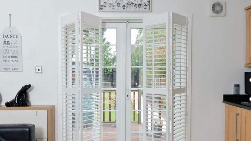 Installation of Tracked Shutters Essex by A Touch Of Class